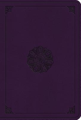 Image for ESV Value Large Print Compact Bible (TruTone, Lavender, Emblem Design)