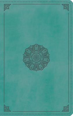 Image for ESV Thinline Bible (TruTone, Turquoise, Emblem Design)