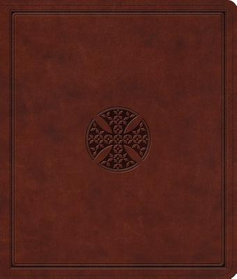 Image for ESV Journaling Bible (TruTone, Brown, Mosaic Cross Design)