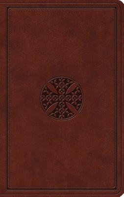 Image for ESV Value Thinline Bible (TruTone, Brown, Mosaic Cross Design)