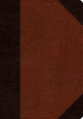 Image for ESV Large Print Wide Margin Bible (TruTone, Brown/Cordovan, Portfolio Design)