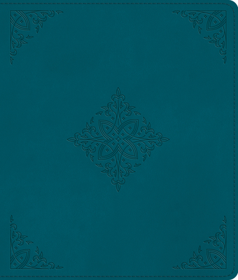 Image for ESV Journaling Bible (TruTone, Deep Teal, Fleur-de-lis Design)