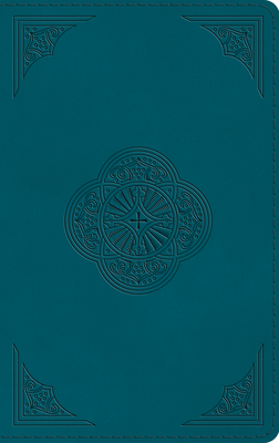 Image for ESV Thinline Bible (TruTone, Deep Teal, Rotunda Design)