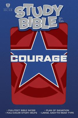 Image for HCSB Study Bible for Kids, Courage LeatherTouch