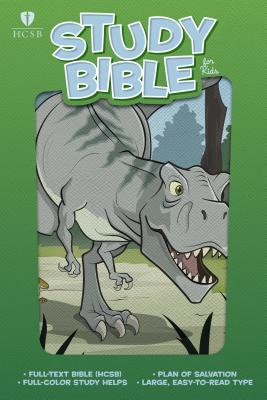 Image for HCSB Study Bible for Kids, Dinosaur LeatherTouch