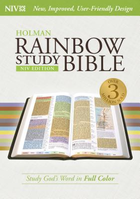 NIV Rainbow Study Bible, Jacketed Hardcover Indexed