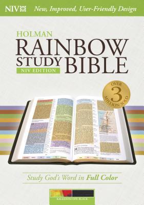 Image for NIV Rainbow Study Bible, Kaleidoscope Black LeatherTouch Indexed