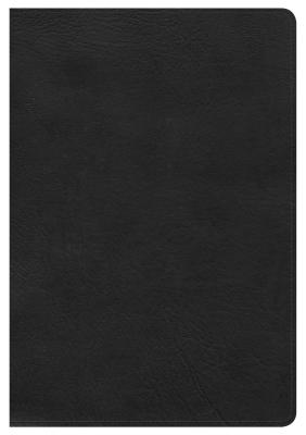 Image for HCSB Large Print Ultrathin Reference Bible, Black LeatherTouch