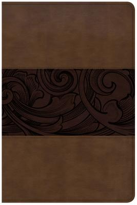 Image for CSB Study Bible, Personal Size Edition, Mahogany LeatherTouch