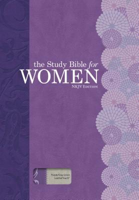 The Study Bible for Women, NKJV Edition, Purple/Gray Linen, Indexed, Kelley Patterson, Dorothy; Harrington Kelley, Rhonda