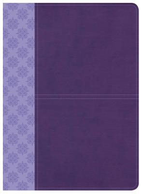 Image for CSB Study Bible, Purple LeatherTouch