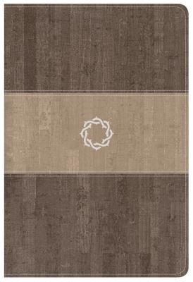 Image for CSB Essential Teen Study Bible, Weathered Gray Cork LeatherTouch