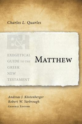 Image for Matthew (Exegetical Guide to the Greek New Testament)