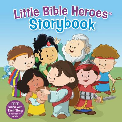 Image for Little Bible Heroes Storybook (padded)