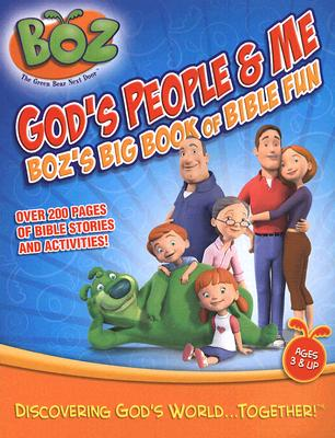 Image for God's People and Me: Boz's Big Book of Bible Fun (Boz the Big Green Bear Next Door)