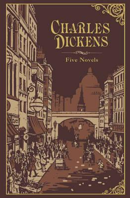 Image for Charles Dickens: Five Novels (Leatherbound Classics) (Leatherbound Classic Collection) by Charles Dickens (2011) Leather Bound