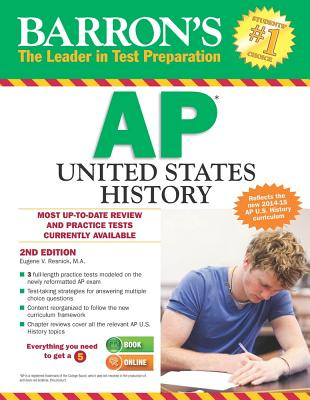 Image for Barron's AP United States History, 2nd Edition