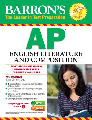 Image for Barron's AP English Literature and Composition, 5th Edition (Barron's Ap English Literture and Composition)
