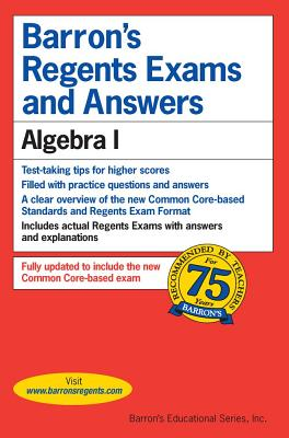 Image for Barron's Regents Exams and Answers: Algebra 1