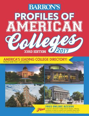 Image for Profiles of American Colleges 2017 (Barron's Profiles of American Colleges)