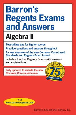 Image for Barron's Regents Exams and Answers: Algebra II (Barron's Regents Exams and Answers Books)