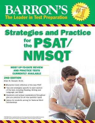 Image for Barron's Strategies and Practice for the PSAT/NMSQT (Barron's Test Prep)