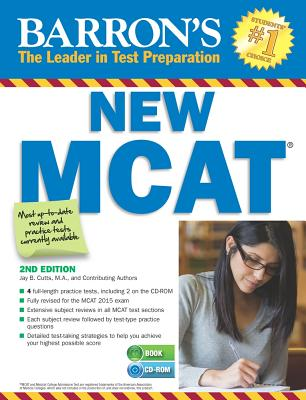 Image for Barron's New MCAT with CD-ROM, 2nd Edition