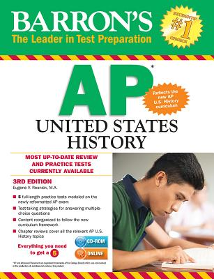 Image for Barron's AP United States History with CD-ROM, 3rd Edition