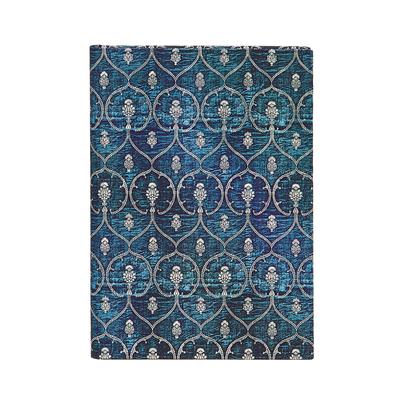 Image for Paperblanks Blue Velvet MIDI Unlined