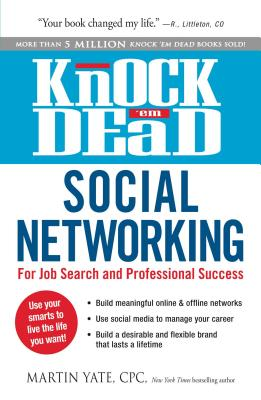 Image for Knock 'em Dead Social Networking: For Job Search and Professional Success