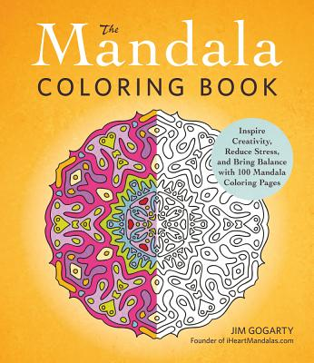 MANDALA COLORING BOOK, GOGARTY, JIM
