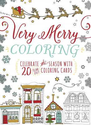 Image for Very Merry Coloring: Celebrate the Seaon with 20 Tear-Out Coloring Cards
