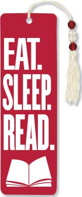 Image for Eat Sleep Read Beaded Bookmark