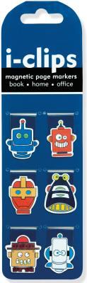 Image for Robots I-clips Magnetic Page Markers: Set of 6