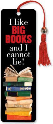 Image for I Like Big Books Beaded Bookmark