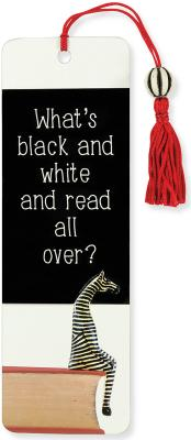 Image for What's Black and White Beaded Bookmark