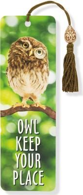 Image for Owl Keep Your Place Beaded Bookmark