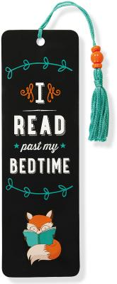 Image for I Read Past My Bedtime Beaded Bookmark