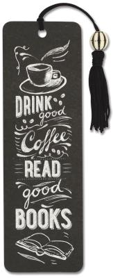 Image for Coffee & Books Beaded Bookmark