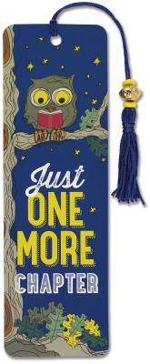 Image for Just One More Chapter Beaded Bookmark