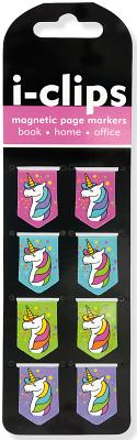 Image for Unicorns I-clips Magnetic Page Markers
