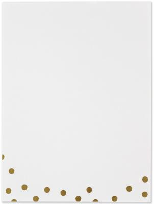 Image for Gold Dots Stationery Set (Boxed Stationery)