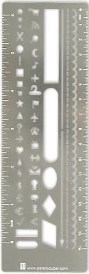 Image for METAL STENCIL BOOKMARK