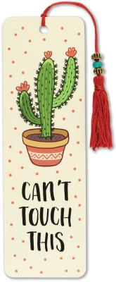 Image for Can't Touch This Beaded Bookmark