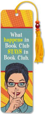 Image for Book Club Beaded Bookmark