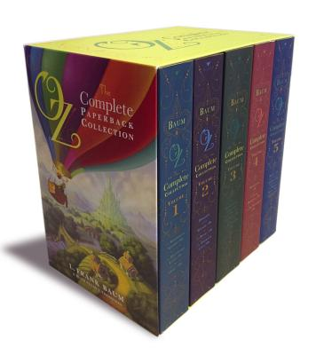 Oz, the Complete Paperback Collection: Oz, the Complete Collection, Volume 1; Oz, the Complete Collection, Volume 2; Oz, the Complete Collection, ... 4; Oz, the Complete Collection, Volume 5, L. Frank Baum (Author)