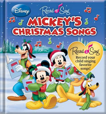 Image for Record a Song Mickeys Christmas Songs