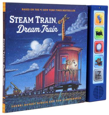 Image for Steam Train  Dream Train Sound Book: (Sound Books for Baby, Interactive Books, Train Books for Toddlers, Children's Bedtime Stories, Train Board Books)