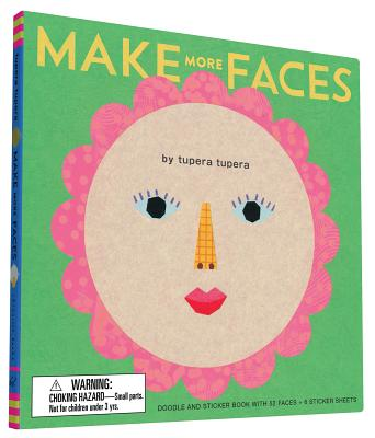 Image for Make More Faces: Doodle and Sticker Book with 52 Faces + 6 Sticker Sheets