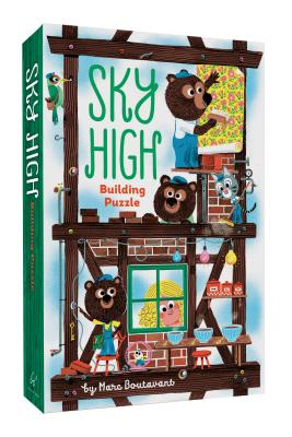 Image for Sky-high Building Puzzle (Floor Puzzle for Toddlers with Large Pieces, Fun Puzzle for Kids Ages 2-4)